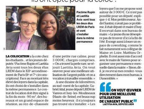 """""""Ils ont opté pour la coloc"""" – Le Parisien – 16/08/17"""