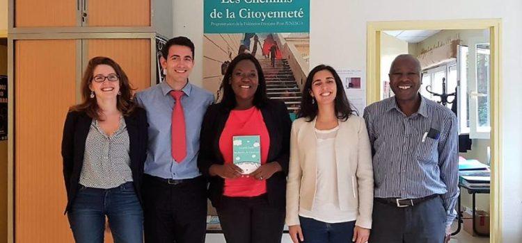 Rencontrer avec les équipes de la Fédération Française pour l'Unesco