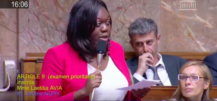 Loi de confiance – Intervention de Laetitia Avia sur la suppression de la réserve parlementaire