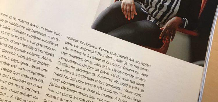 """""""Sauvées par l'école, leurs trajectoires extraordinaires"""" – Marie Claire – 7/09/17"""