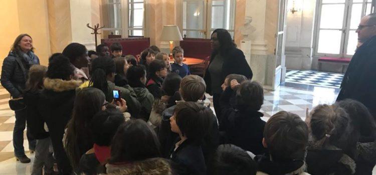 Visite de l'Assemblée pour les écoles des rues Bignon et Marsoulan