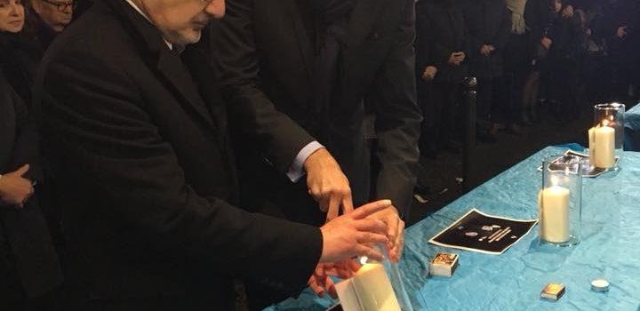 Hommage populaire organisé par le CRIF à toutes les victimes du terrorisme