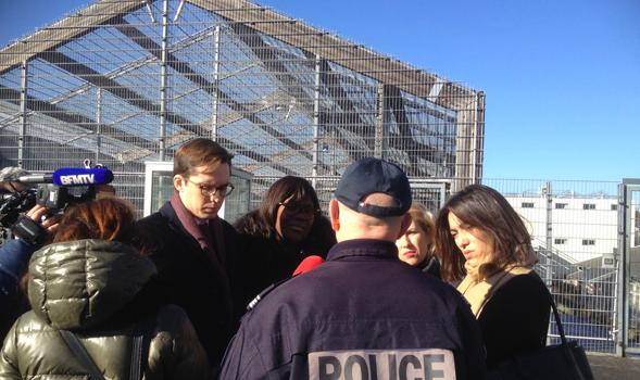 Visite du centre de rétention administrative de Vincennes