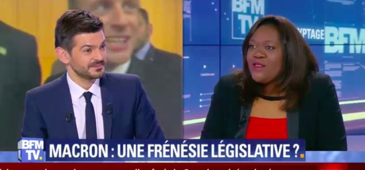 Interview de Laetitia Avia – BFMTV – 06/01/18