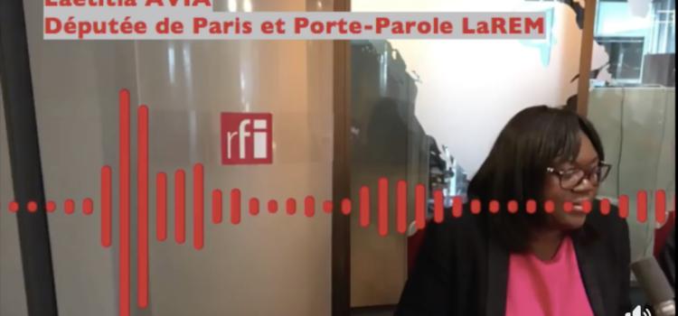 LAETITIA AVIA – RFI – 04/06/2018