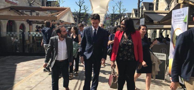 Ouverture des commerces le dimanche à Bercy Village