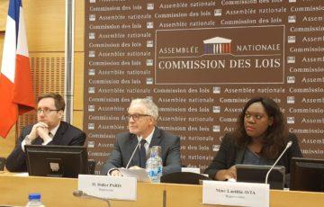 Examen en Commission du projet de loi de programmation de la réforme de la justice