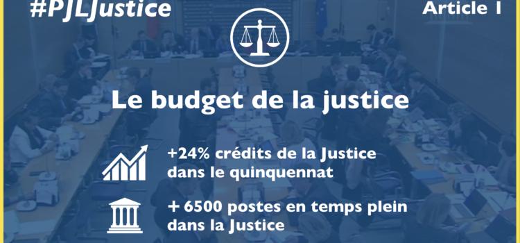 Examen en commission des lois de la réforme de la Justice.