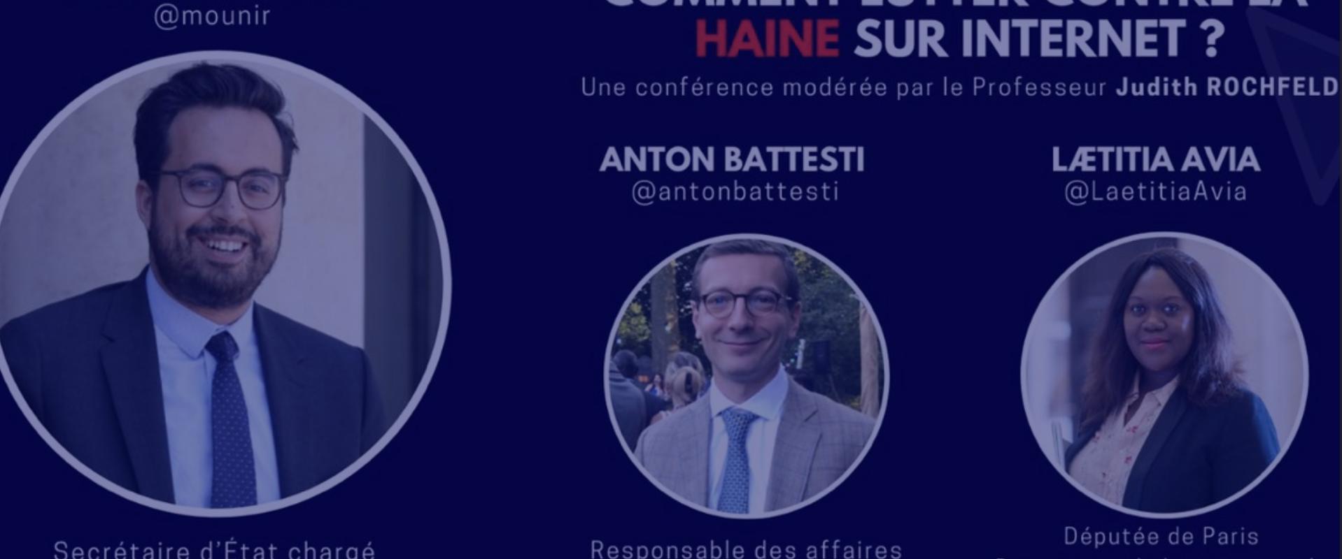 Conférence : Comment lutter contre la haine sur Internet