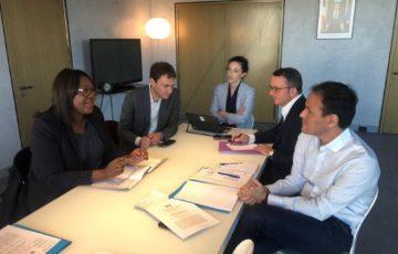 Rencontres avec les institutionnels français et internationaux