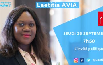 🎙 Interview RFI Laetitia Avia : « Aller au contact des Français, écouter leurs préoccupations et leurs solutions »