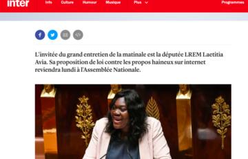 📻 Grand entretien de la matinale sur France Inter