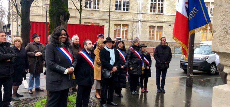 Commémoration pour les 75 ans de la libération des camps de la mort