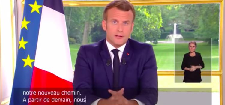 """Allocution présidentielle du 14 juin :  """" Nous allons retrouver le plaisir d'être ensemble """""""