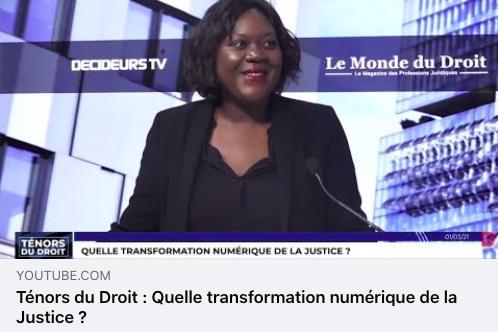 Transformation numérique de la justice : des avancées concrètes et opérationnelles