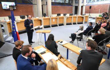 En visite au tribunal judiciaire de Bobigny