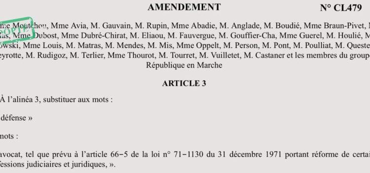 Vote du PJL Confiance dans l'institution judiciaire en commission des lois.