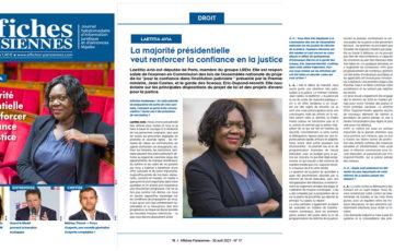 Réforme de la justice : En interview pour Affiches Parisiennes