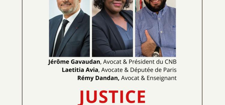 Instagram Live : Rétablir la confiance envers la Justice