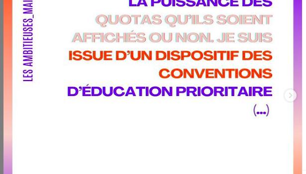 """LES AMBITIEUSES Live :  """" Egalité des chances : un combat prioritaire """""""