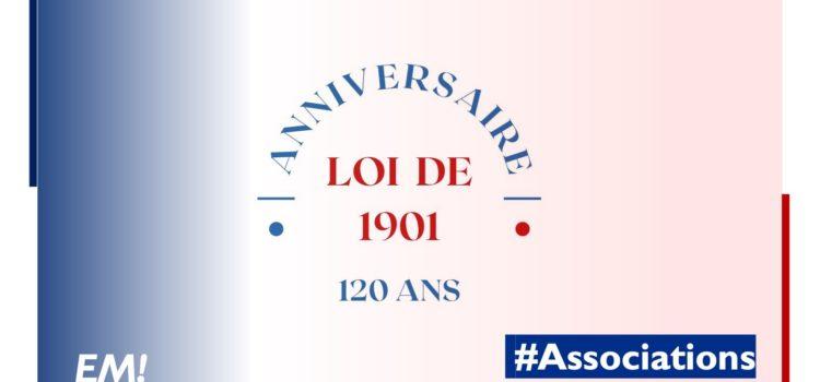 La loi 1901 pour la liberté d'association  120 ans!