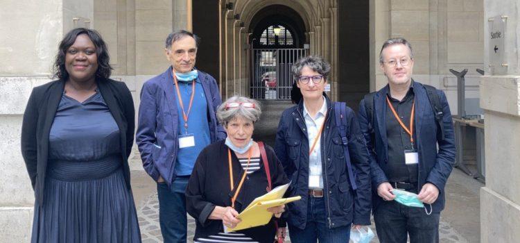 """Avec les associations de riverains au Ministère de l'Écologie pour dire """"NON"""" à la bétonisation du 12ème"""