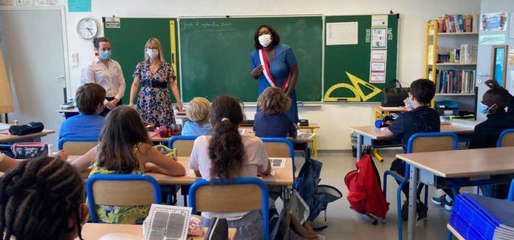 Rentrée scolaire 2021 :  à la rencontre des élèves.