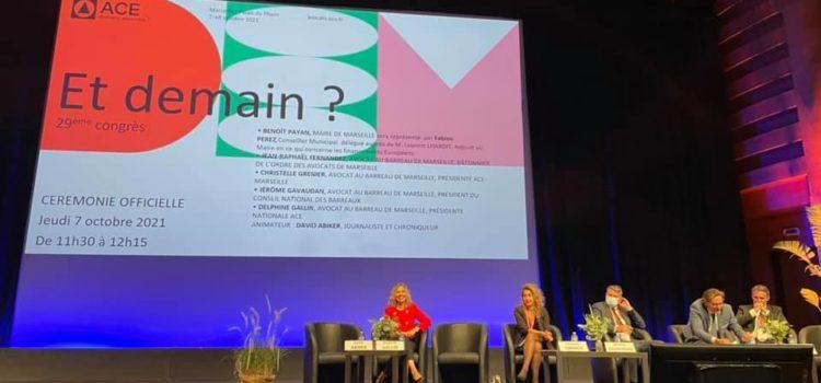Congrès ACE Avocats à Marseille