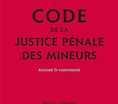 Un nouveau code de justice pénale des mineurs entre en vigueur